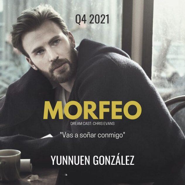 """La imagen de Chris Evans como """"Morfeo"""" solo es representativa a la imaginación de la escritora."""